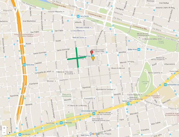 Herramienta Mapa Plaza de Armas que describe Tawantinsuyo